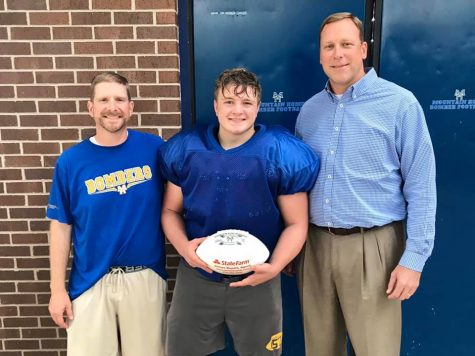 Aidan Richey named State Farm Player of the Game