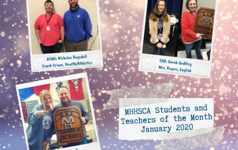 MHHS Announces February Teachers and Students of the Month