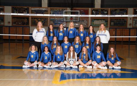 MH volleyball team set for Senior Night; Cotter to host district title match