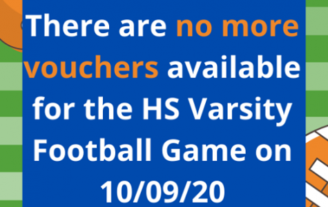 No Vouchers Available for Homecoming