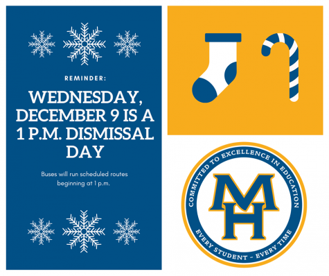 1:00 Dismissal on Wednesday