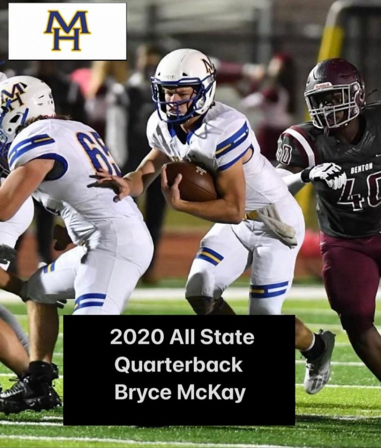 MHHS Football Players named to All-State List