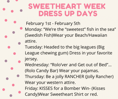 MHHS Announces Sweetheart Week Dress-Up Days