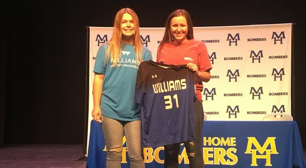 2 MHHS seniors sign with Williams Baptist