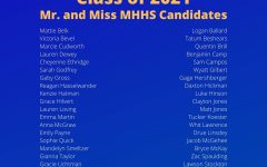 Mr. and Miss MHHS Candidates Announced