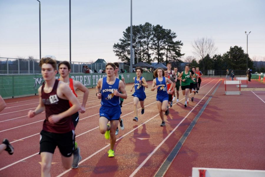 MHHS Track Team Secures Runner Up at Conference