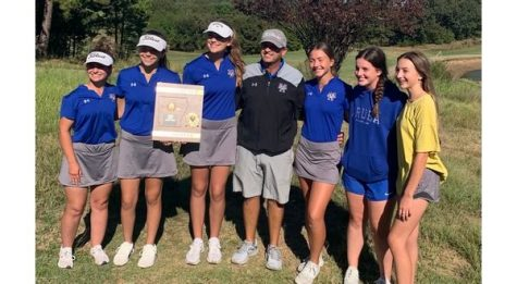 MH girls' golf team repeats as conference champs, boys just miss state berth
