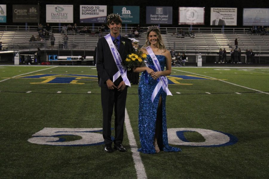 Croom, Blount selected as MHHS homecoming royalty